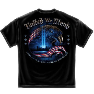 Commemorative United We Stand Mens T-Shirt - The Flag Shirt