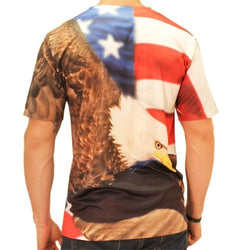 Eagle Flag Sublimated T-Shirt - The Flag Shirt