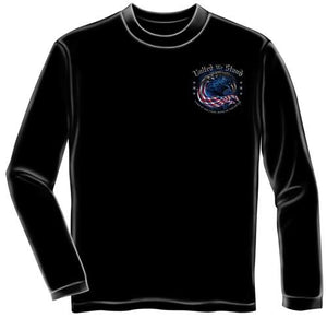 Long Sleeve Patriotic T-shirt 9-11 Commemorative United We Stand - FF2067LS - The Flag Shirt