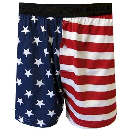 American Flag Boxer Shorts - The Flag Shirt