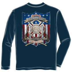 American Firefighter Mens Long Sleeve T-Shirt