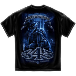 343 Never Forget Mens T-Shirt - The Flag Shirt