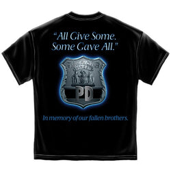 All Gave Some Law Enforcement Mens T-Shirt - The Flag Shirt