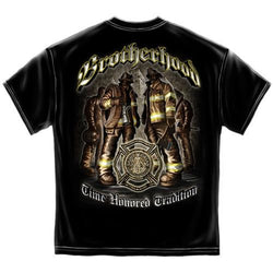 Brotherhood Firefighter Mens T-Shirt