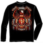 Load image into Gallery viewer, 343 Fallen Heroes Mens Long Sleeve T-Shirt - The Flag Shirt