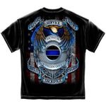 Load image into Gallery viewer, Honor Our Fallen Officers Mens T-Shirt - The Flag Shirt