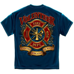 Volunteer Firefighter Mens T-Shirt