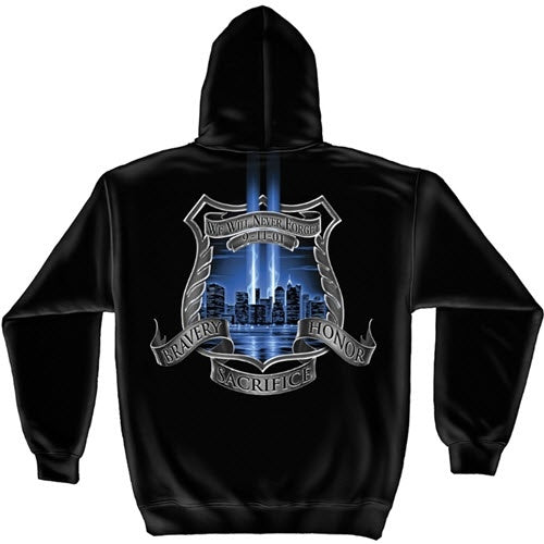 Police Aftermath High Honors Mens Hooded Sweatshirt - The Flag Shirt