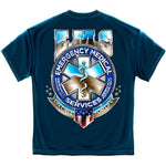 Load image into Gallery viewer, EMS Badge of Honor Mens T-Shirt - The Flag Shirt