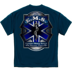 EMS Beer Label Mens T-Shirt - The Flag Shirt