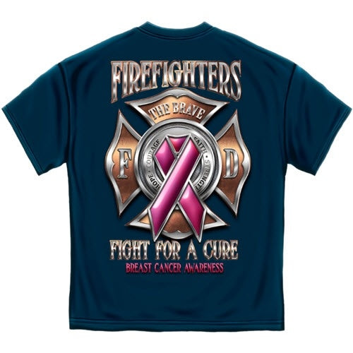 Firefighter Race for a Cure Mens T-Shirt - The Flag Shirt