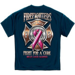 Load image into Gallery viewer, Firefighter Race for a Cure Mens T-Shirt - The Flag Shirt