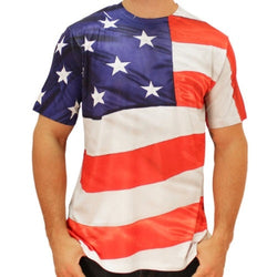 American Flag Sublimated T-Shirt - The Flag Shirt