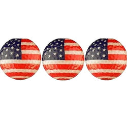3 USA Flag Golf Balls - The Flag Shirt