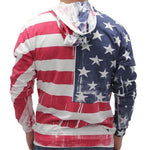 Load image into Gallery viewer, Lightweight All American Hand Painted Hoodie - The Flag Shirt