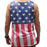 Load image into Gallery viewer, American Flag Men's Mesh Tank Top - theflagshirt