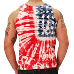 Load image into Gallery viewer, Tie Dye Stars Mens Tank Top - The Flag Shirt