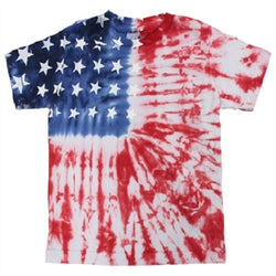 Toddler Tie Dye American Flag Shirt - The Flag Shirt
