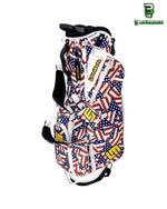 Load image into Gallery viewer, Flagadelic 8.5 Inch Double Strap Golf Bag - The Flag Shirt