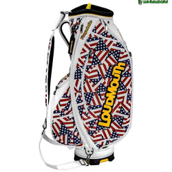 Flagadelic 9 Inch Staff Golf Bag - The Flag Shirt