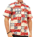 Load image into Gallery viewer, Patriotic Hawaiian Shirt - The Flag Shirt
