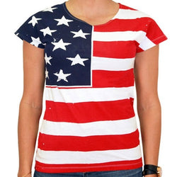 Usa Shirt For Women - The Flag Shirt