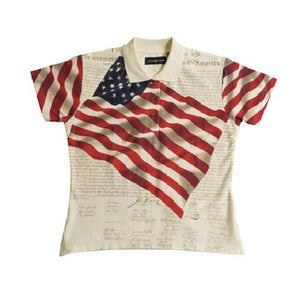 Girls - Benji - The Flag Shirt
