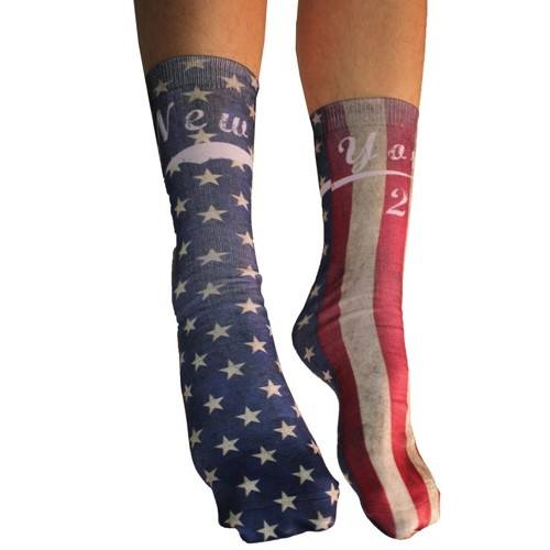 New York Half Stars Stripes Socks - The Flag Shirt