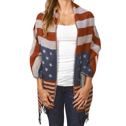 Ladies American Flag Fashion Vest