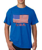 Load image into Gallery viewer, USA Waving Flag Mens T-Shirt - The Flag Shirt
