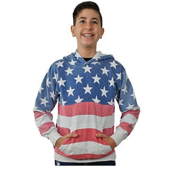 USA Kids Pullover Hoodies