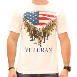 Veteran Mens T-Shirt - The Flag Shirt