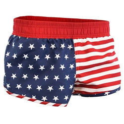Juniors USA Flag Swim Shorts - The Flag Shirt