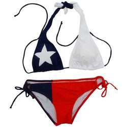 Texas Flag Bikini - The Flag Shirt