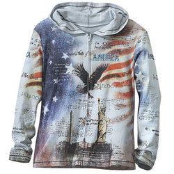Lady America Hoodie - The Flag Shirt