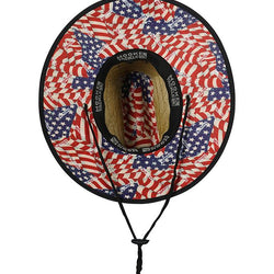 American Lifeguard Straw Hat - The Flag Shirt