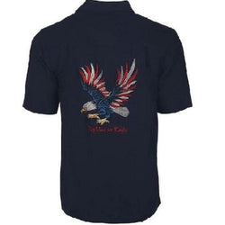 Men's Fly like an Eagle Embroidery Shirt