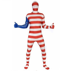 USA Flag Morphsuit - The Flag Shirt