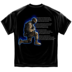 Soldiers Prayer Mens T-Shirt
