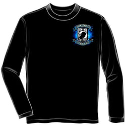 Patriotic POW MIA Mens Long Sleeve T-Shirt - The Flag Shirt