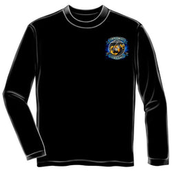 True Heroes USMC Mens Long Sleeve T-Shirt - The Flag Shirt