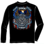 Load image into Gallery viewer, True Heroes Army Mens Long Sleeve T-Shirt - The Flag Shirt