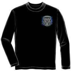 True Heroes Army Mens Long Sleeve T-Shirt - The Flag Shirt