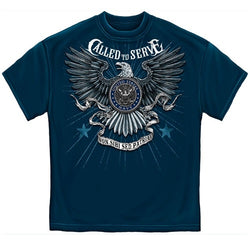 Navy Called to Serve Mens T-Shirt