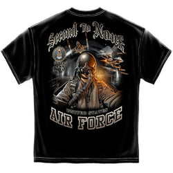 Air Force Second to None Mens T-Shirt - The Flag Shirt