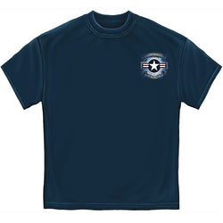 Air Force Star Shield Mens T-Shirt - The Flag Shirt