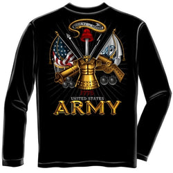 Army Antique Armor Mens Long Sleeve T-Shirt