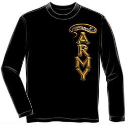 Army Antique Armor Mens Long Sleeve T-Shirt - The Flag Shirt