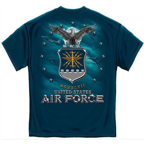 USAF Air Force Missile Mens T-Shirt - The Flag Shirt