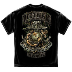 USMC Vietnam Jungle Theme Mens T-Shirt - The Flag Shirt